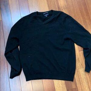 Club Room 100% cashmere black sweater men's medium